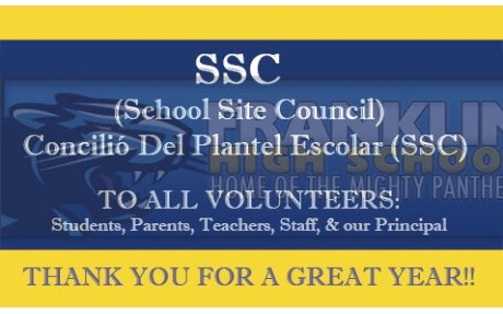 SSC Thank You 2013