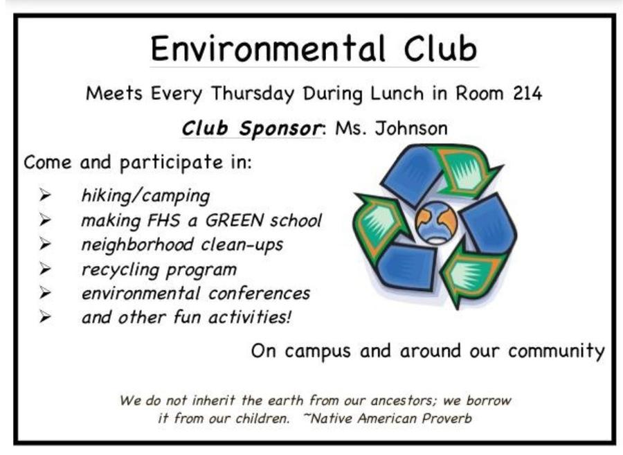 Franklin Environmental Club