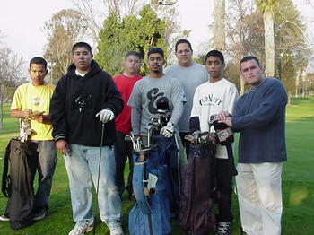 2001 Boys Golf TEam