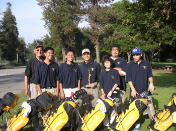 2006 Boys Golf Team