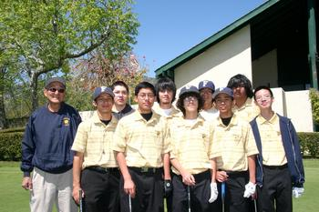 2008 Boys Golf Team