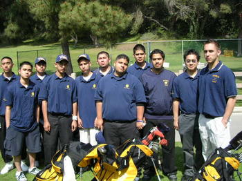 2004 Boys Golf Team