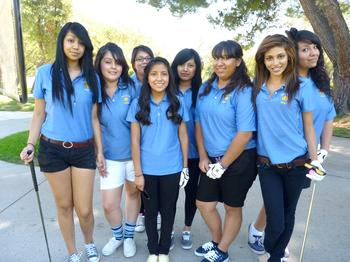 2010 Girls Golf Team