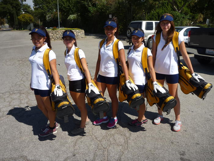 2012 Girls Golf Team